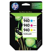 HP HP 940, (CN065FN) 3-pack Cyan/Magenta/Yellow Original Ink Cartridges Item: HEWCN065FN