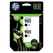 HP HP 901, (CZ075FN) 2-pack Black Original Ink Cartridges Item: HEWCZ075FN
