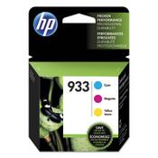 HP HP 933, (N9H56FN) 3-pack Cyan/Magenta/Yellow Original Ink Cartridges Item: HEWN9H56FN