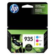 HP HP 935, (N9H65FN) 3-pack Cyan/Magenta/Yellow Original Ink Cartridges Item: HEWN9H65FN