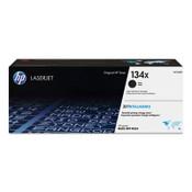 HP HP 134X (W1340X) High-Yield Black Original Laser Toner Cartridge Item: HEWW1340X