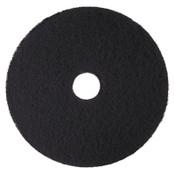 "3M™ Low-Speed High Productivity Floor Pads 7300, 14"" Diameter, Black, 5/Carton Item: MMM08272"