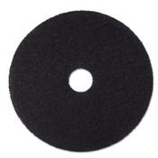 "3M™ Low-Speed Stripper Floor Pad 7200, 18"" Diameter, Black, 5/Carton Item: MMM08380"