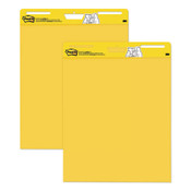 Post-it® Easel Pads Super Sticky Self Stick Easel Pads, 25 x 30, Yellow, 30 Sheets, 2 Pads/Pack Item: MMM559YW2PK