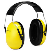 3M™ Optime 98 H9A Earmuffs, 25 dB NRR, Yellow/Black Item: MMMH9A