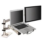 "3M™ Monitor Arm Laptop Adapter, 3.75"" x 12.25"" x 13.38"", Silver/Black Item: MMMMALAPTOP2"