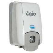"4510015219871, SKILCRAFT GOJO Hand Soap Dispenser, 6"" x 4.5"" x 10.5"", Gray Item: NSN5219871"