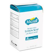 8520015220834, SKILCRAFT, GOJO Antibacterial Lotion Soap, Floral, 1000 mL Refill, 8/Carton Item: NSN5220834