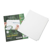 7530016006981 SKILCRAFT Avery Index Maker Dividers, 5-Tab, 11 x 8.5, White, 5 Sets Item: NSN6006981