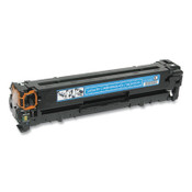 AbilityOne® 7510016901907 Remanufactured CB541A (125A) Toner, 1,400 Page-Yield, Cyan Item: NSN6901907
