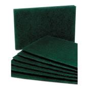 7920007535242, SKILCRAFT, Scouring Pad, Medium Grade, Nylon, Green, 10/Pack Item: NSN7535242