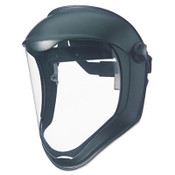 Honeywell Uvex™ Bionic Face Shield, Matte Black Frame, Clear Lens Item: UVXS8500