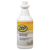 Zep Professional® Stain Remover with Peroxide, Quart Bottle Item: ZPP1041705EA